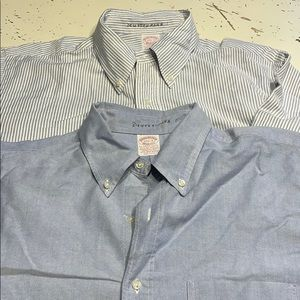 Brooks brothers Oxford cloth button downs 17.5-3